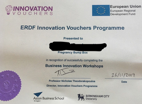 Innovation Vouchers For Business Certificate