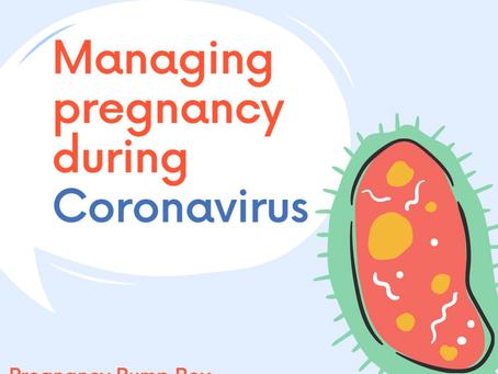Managing pregnancy during corona virus...
