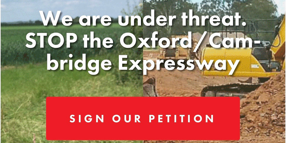 No Expressway Photo at Brill Windmill - if you say NO to the Expressway we need your help to launch the Petition