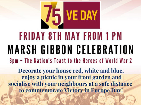 Join in and Celebrate VE Day - Friday 8 May