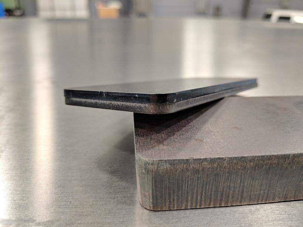 laser-cut metal parts