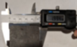 Three quarter inch laser-cut steel top e