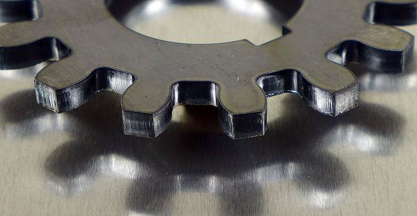 """1/4"""" laser cut steel"""
