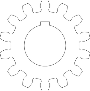 An example of a cut-ready DXF