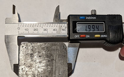 Five eighths inch laser-cut steel bottom