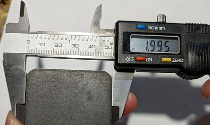 Half inch laser-cut steel bottom edge di