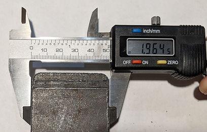 Three quarter inch laser cut steel botto