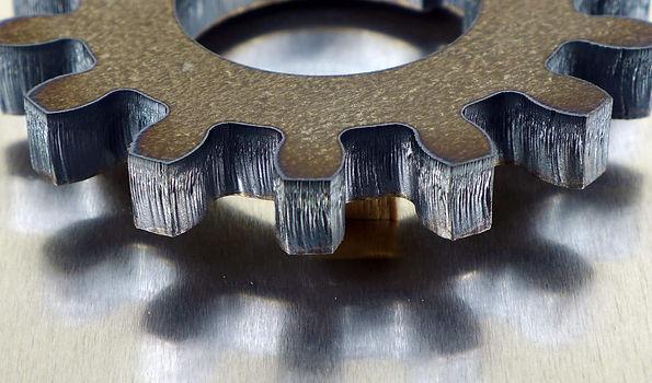 Half inch laser cut steel