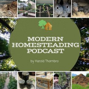 Featured on the Modern Homesteading Podcast