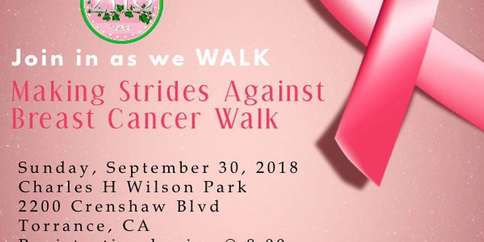 Making Strides Again Breast Cancer