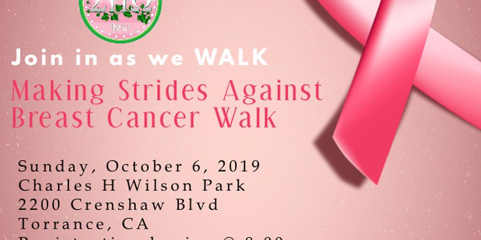 Making Strides Breast Cancer 5k Walk