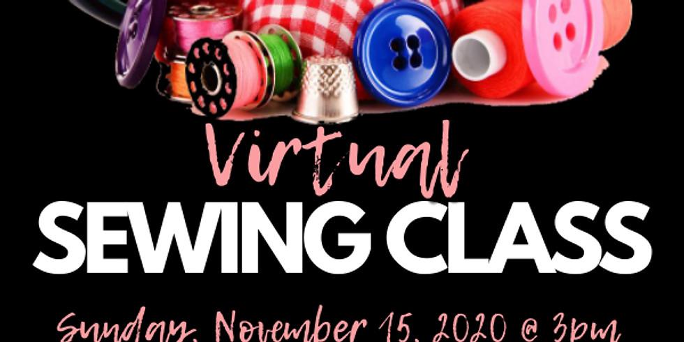 Virtual Sewing Class