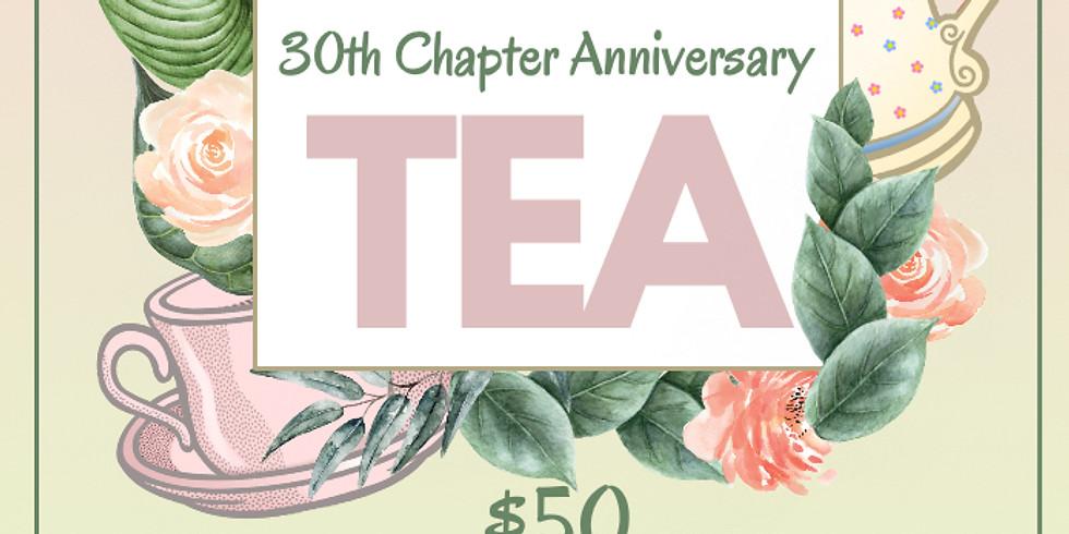 30th Anniversary Tea