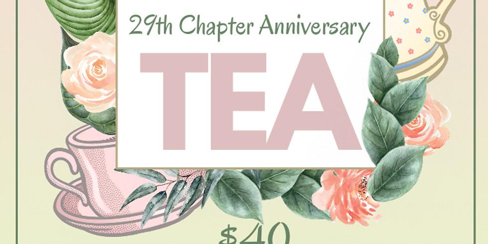 29th Chapter Anniversary Tea