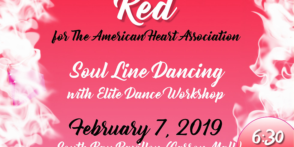 Pink Goes Red Soul Line Dancing