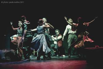 Yerma: con aire flamenco y canciones de delicia