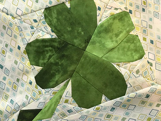 Lucky Charm Quilt Block - FREE PATTERN!