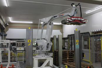 Robô de paletização automática