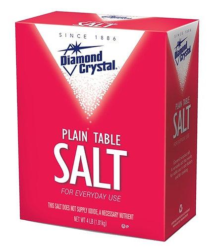 Salt  4 LB / box