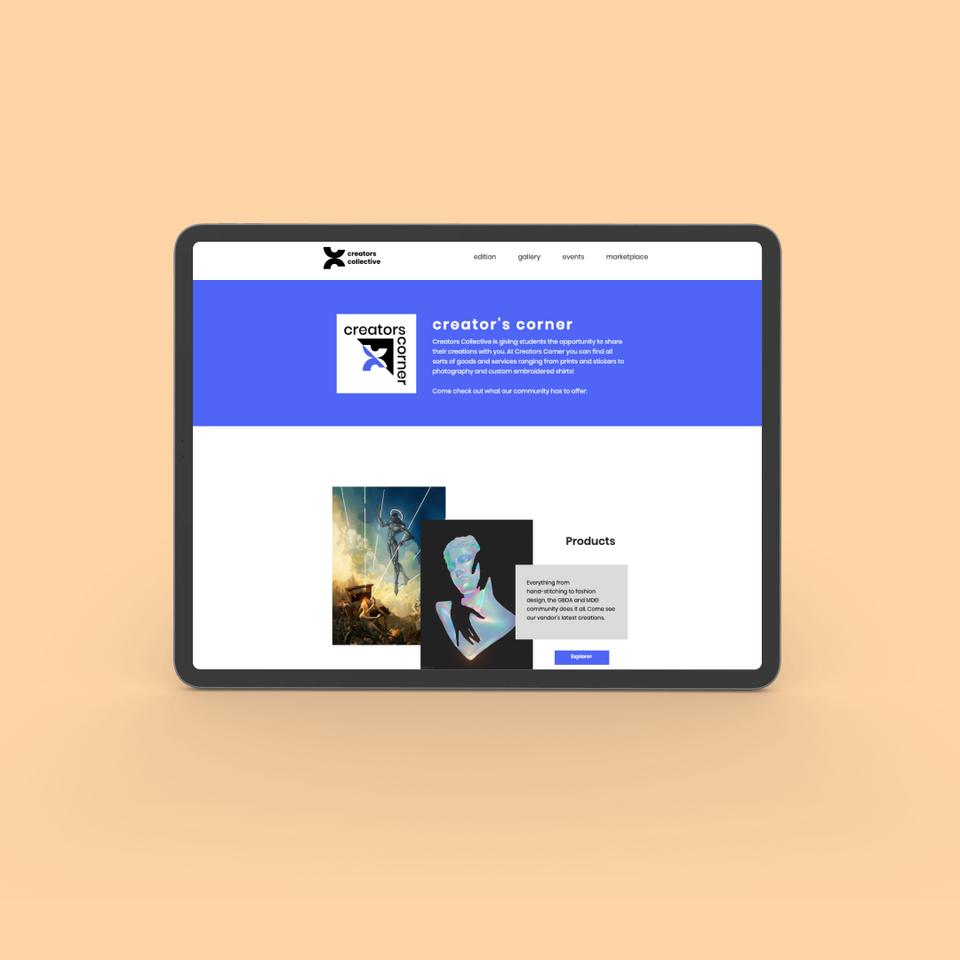 Creator's Collective Web Designs Study