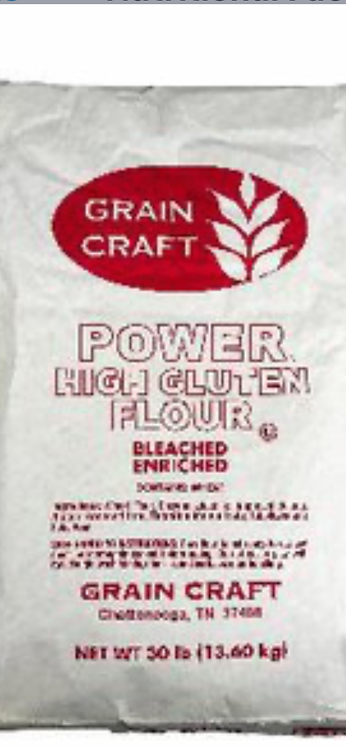 High Gluten Flour 30 LB