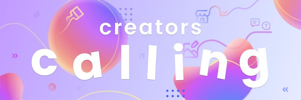 Creators Calling Banner Website.png