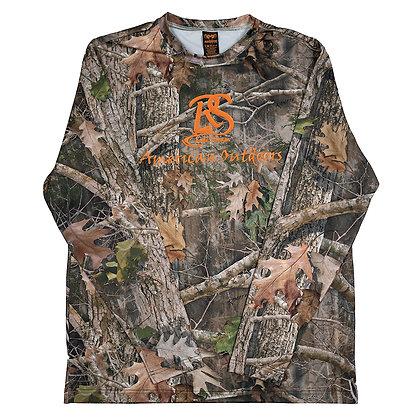 "True Timber ""American Outdoors"" Long Sleeve Full Camo"