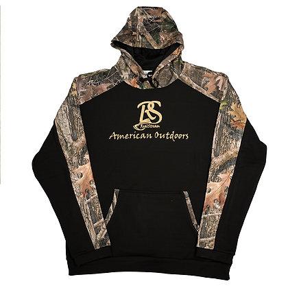 "True Timber ""American Outdoors"" - Black Camo Hoodie"