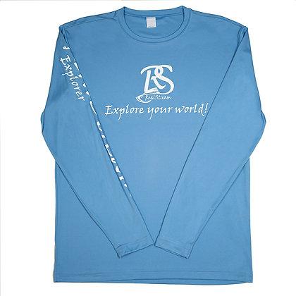 "Summer Series ""Explorer"" Carolina Blue Long Sleeve"