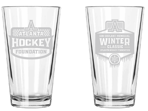 2021 Winter Classic Commemorative Pint Glass