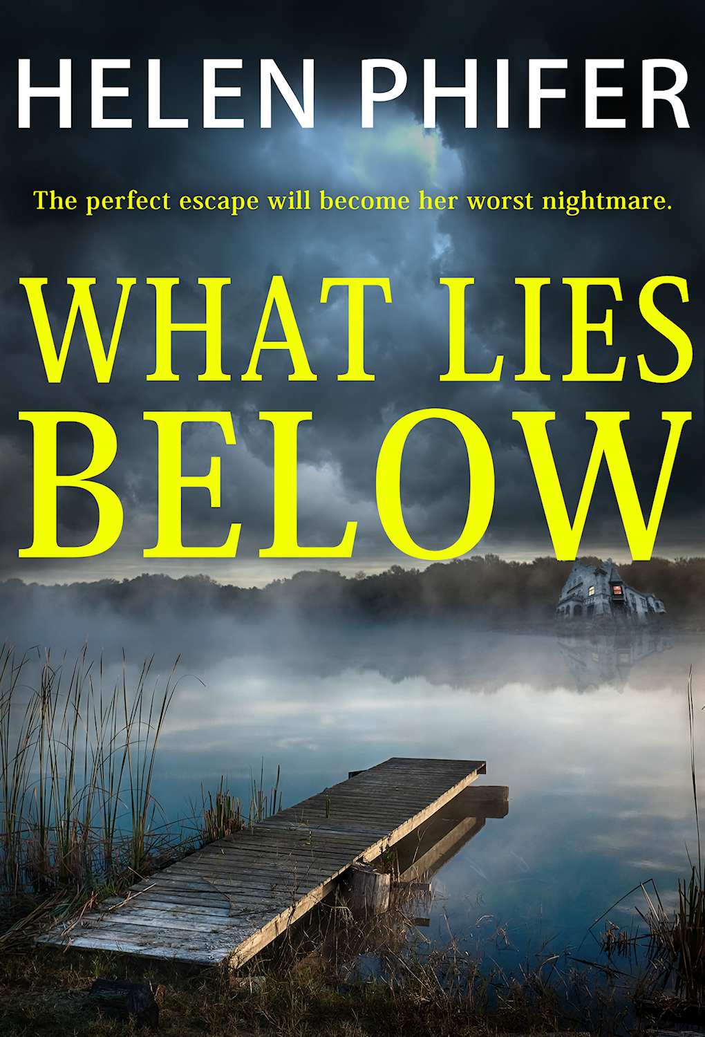 What Lies Below by Helen Phifer