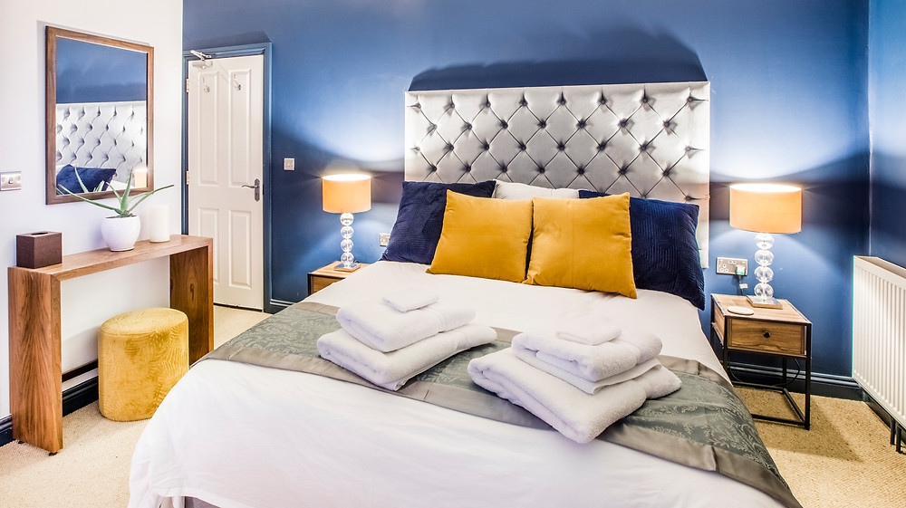 The Avalon Hotel Tintagel, bedroom suite.