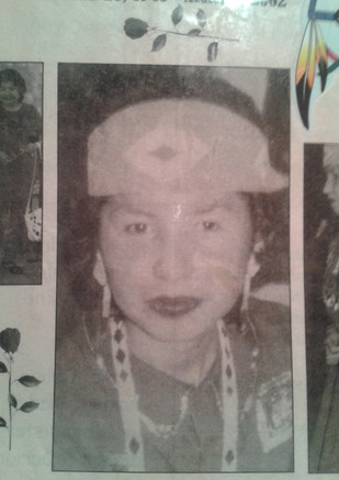 Honouring my late mother, my biggest hero.