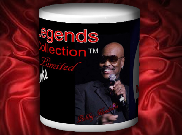 Legends Mug front- Bobby Hendricks