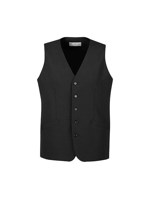 Mens Longline Wool Vest