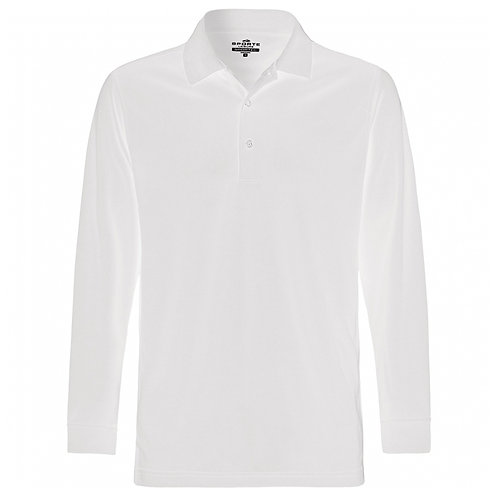 Mens Aero Long Sleeve Polo