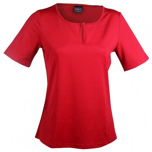 Ladies Silvertech Short Sleeve Top