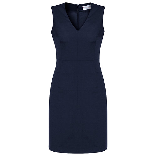 Ladies V-Neck Sleeveless Dress