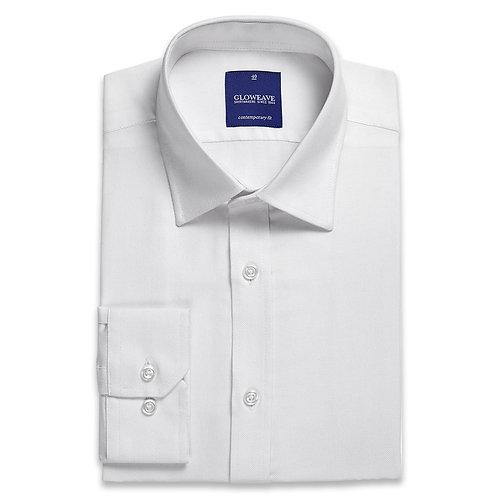 Mens Micro Brick Textured Plain Shirt