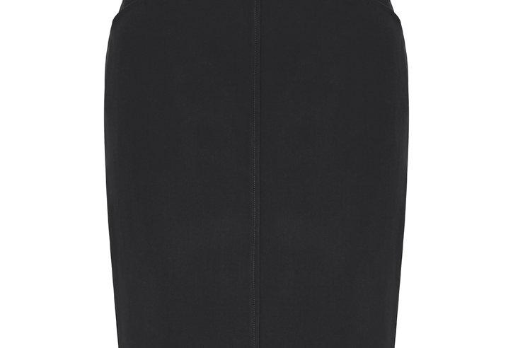 Ladies Bandless Pencil Skirt