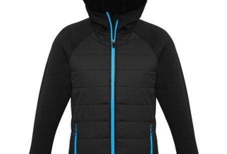 Mens Stealth Hybrid Hooded Jacket