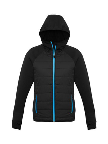 Mens Stealth Hybrid Hooded Jacket