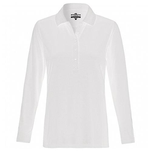 Ladies Aero Long Sleeve Polo