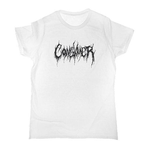 Shirt | Consvmer schwarz auf weiss