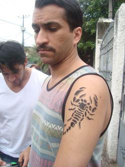 Tatuagem Falça