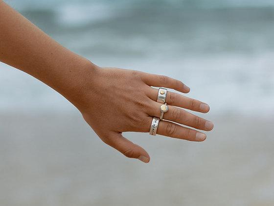 22k Gold Blob Ring