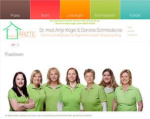 Fotograf für Personlafotos, Arztpraxis Straubing