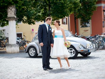Hochzeitsfeier in Regensburg