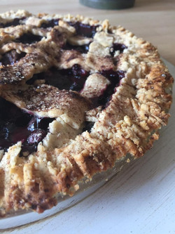 Local Blueberry pie