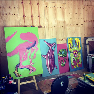A few Canvases